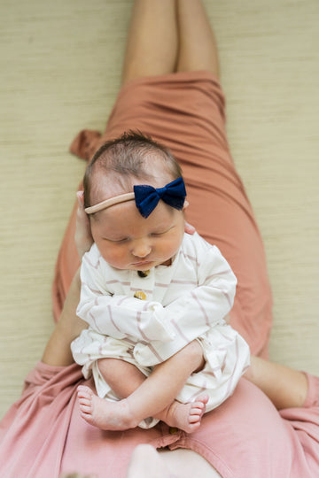 Lydia Ultimate Newborn Bundle (Headband)