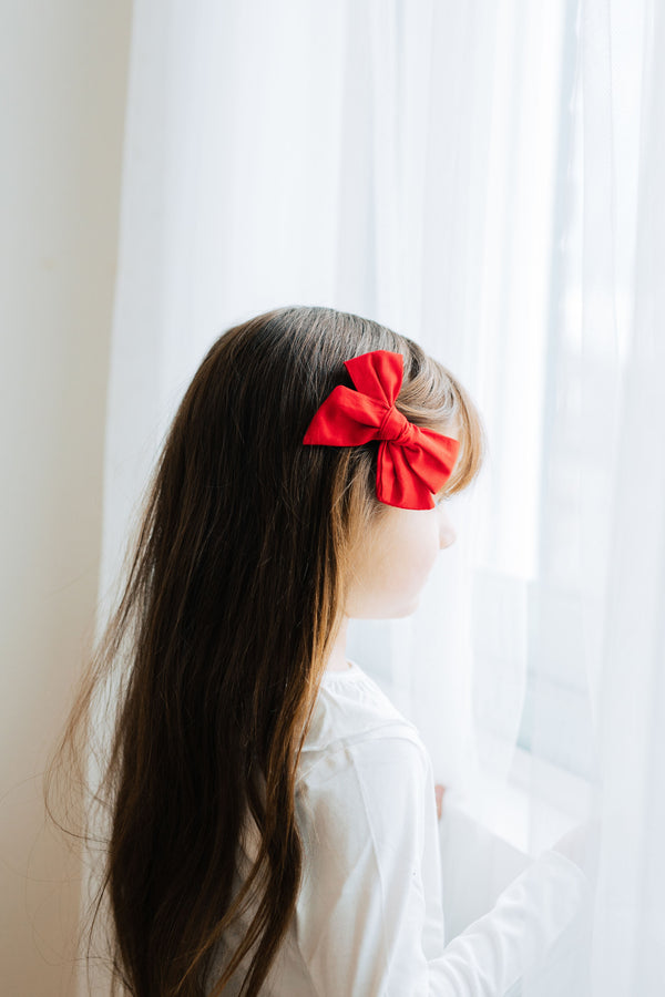 Red Classic Bow