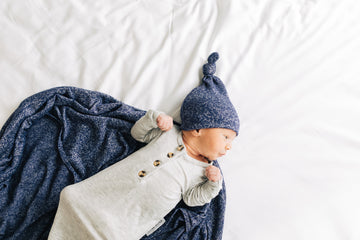 Maddox Sweater Top Knot Hat