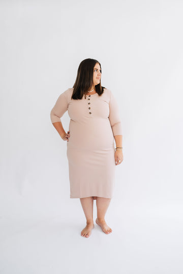 The Everyday Dress - Blush