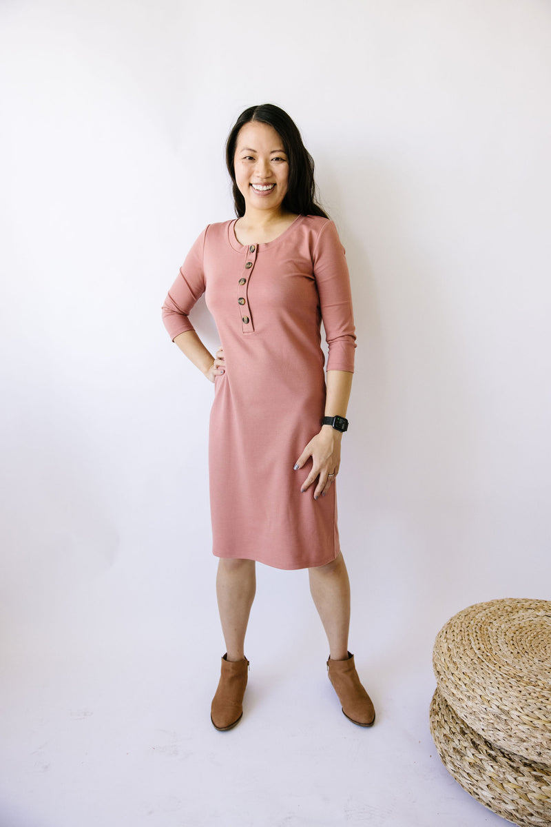 The Everyday Dress - Rose