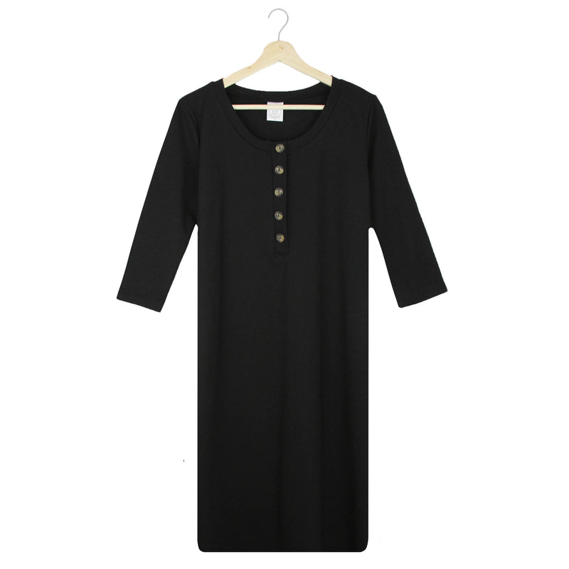 The Everyday Dress - Black (PRESALE)