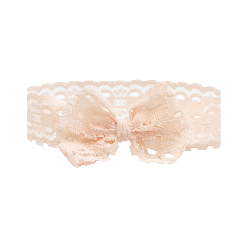 Blush Lace Vintage Headband