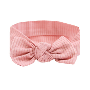 Brielle Ribbed Ultimate Newborn Bundle (Headband)