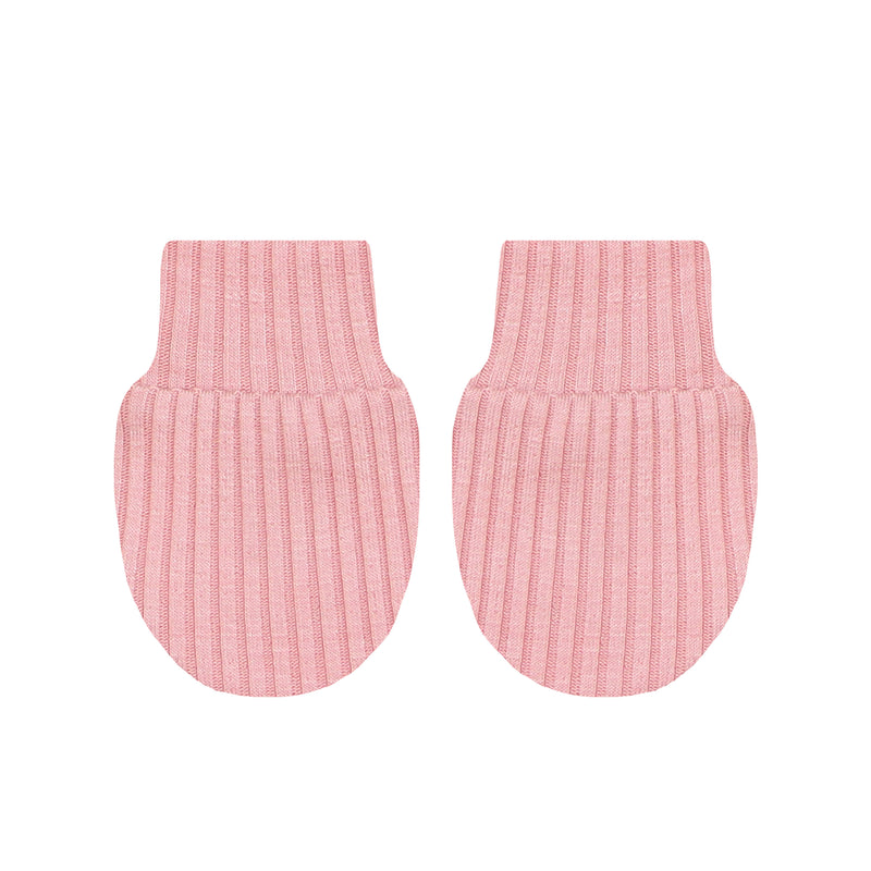 Brielle Ribbed No Scratch Mittens