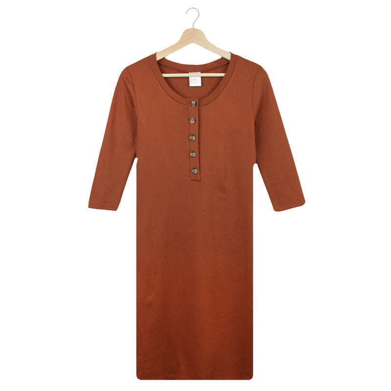 The Everyday Dress - Copper