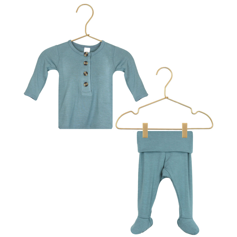 Henry Top + Bottoms (Newborn Size)