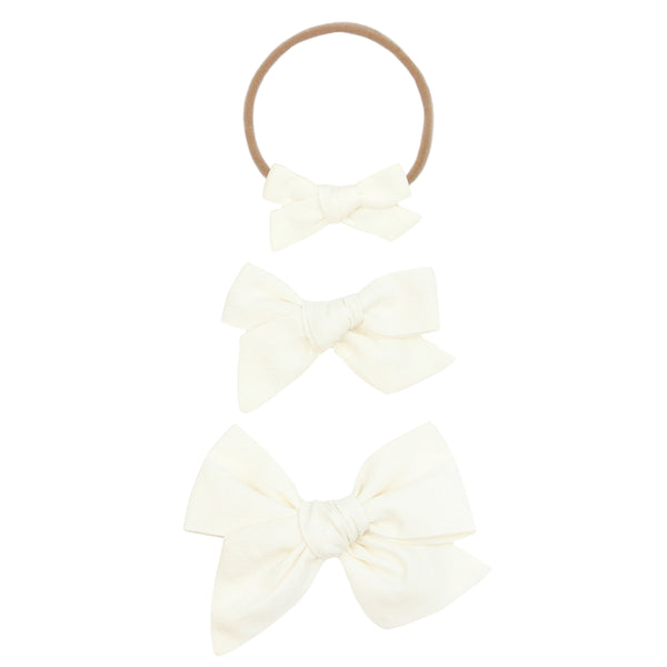 Classic - Ivory Bow