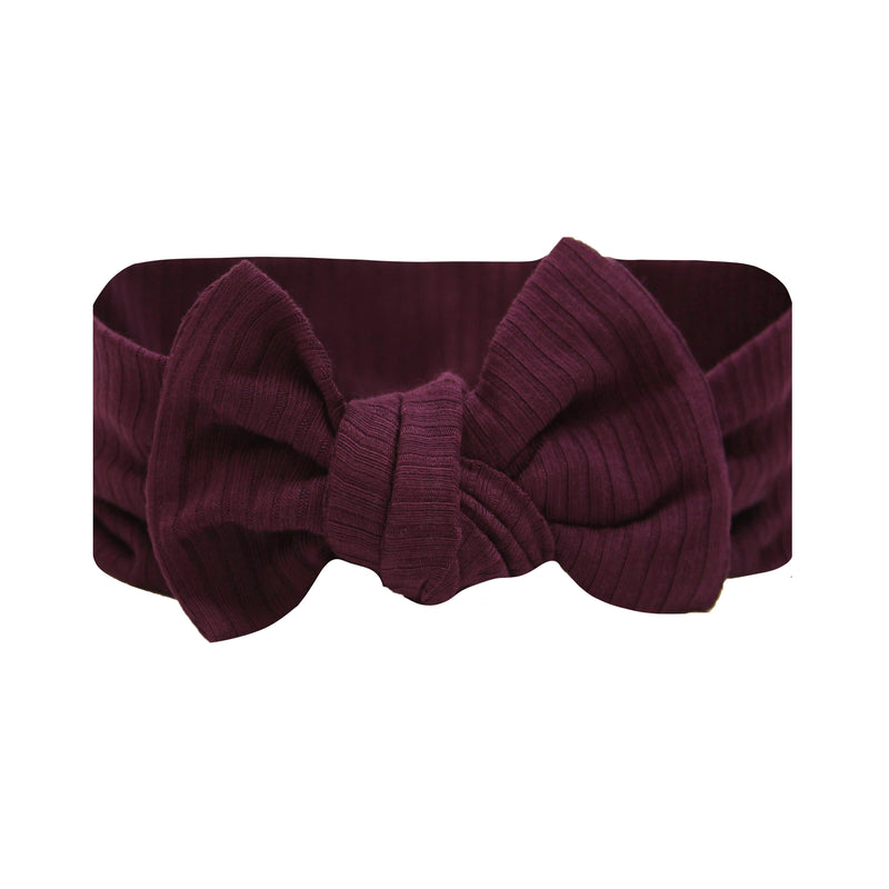 Kylie Ribbed Ultimate Newborn Bundle (Headband)