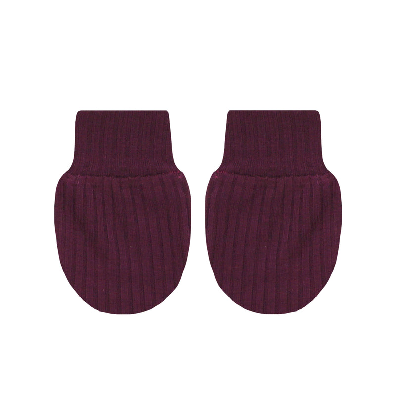Kylie Ribbed No Scratch Mittens