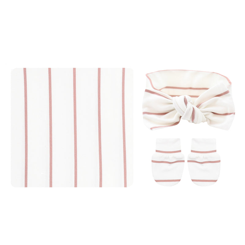 Lydia Essential Newborn Bundle (Headband)