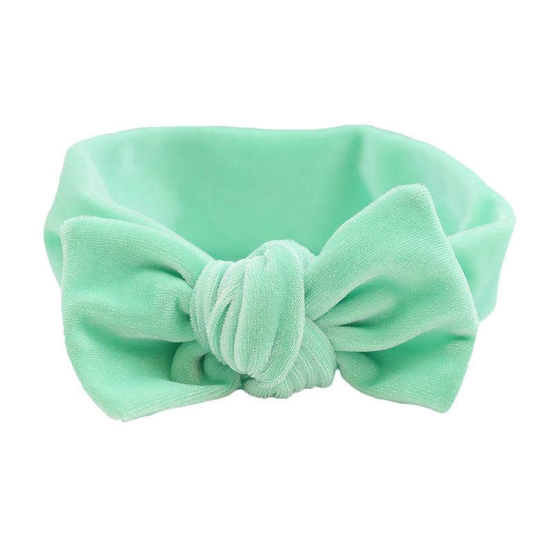 Mint Velvet Knot Headband