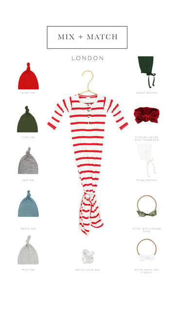 London Essential Newborn Bundle (Headband)