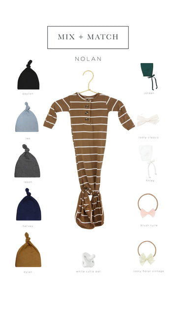 Nolan Ultimate Newborn Bundle (Hat)