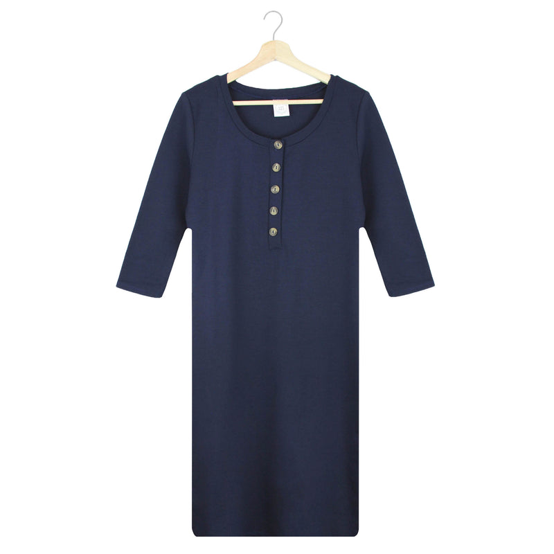 The Everyday Dress - Navy (PRESALE)