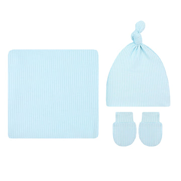 Oliver Ribbed Essential Newborn Bundle (Hat)
