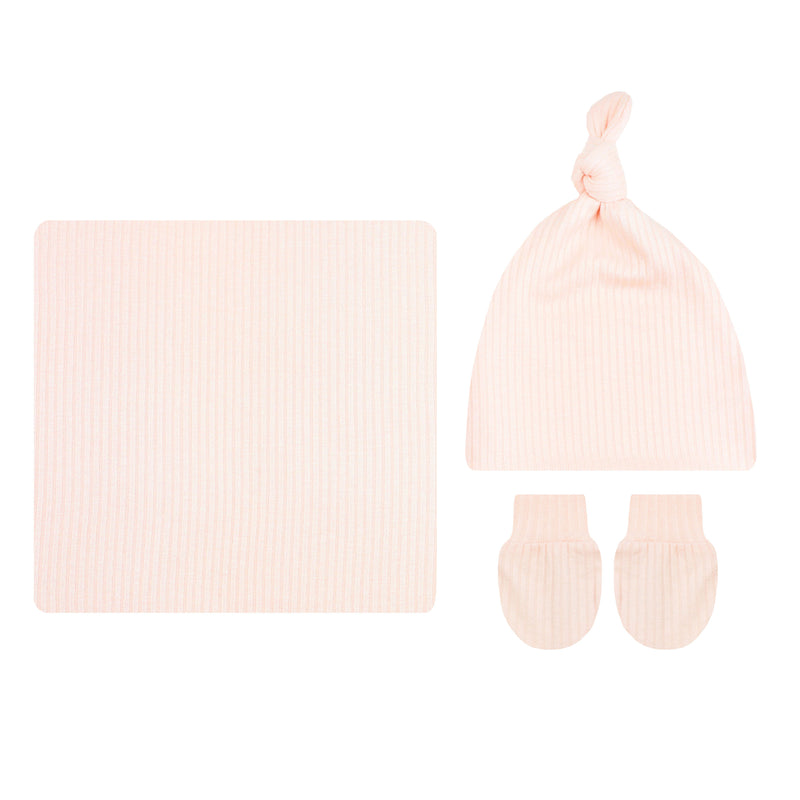Rosie Ribbed Essential Newborn Bundle (Hat)
