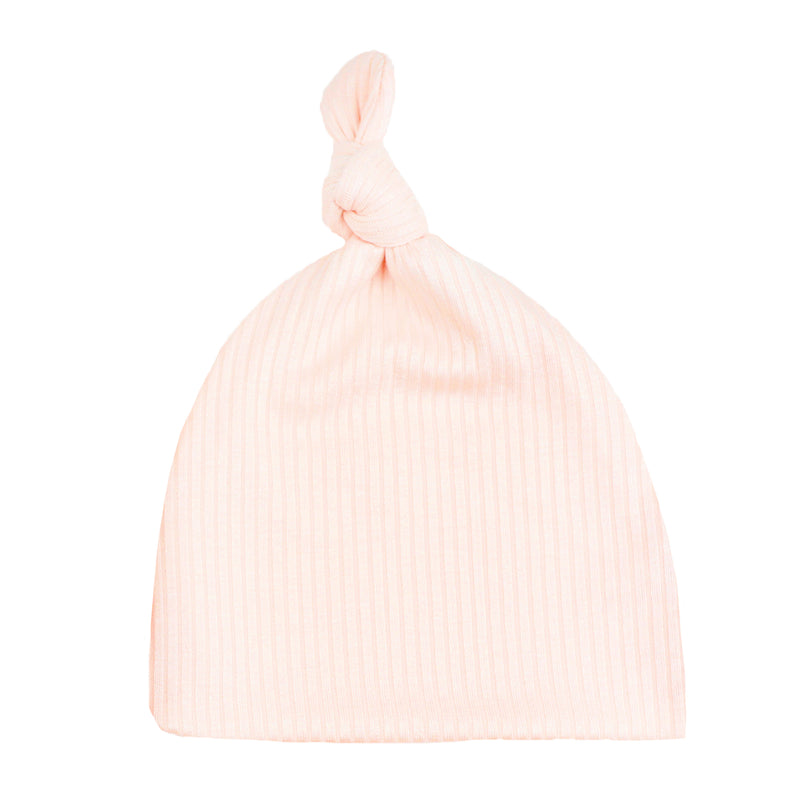 Rosie Ribbed Top Knot Hat
