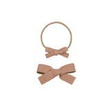 Leather - Sienna Bow Headband