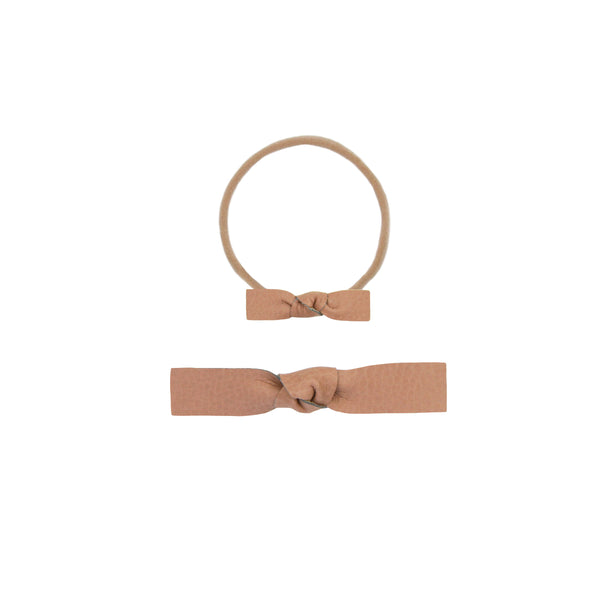 Leather - Sienna Knot Headband