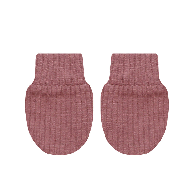 Marjorie Ribbed No Scratch Mittens