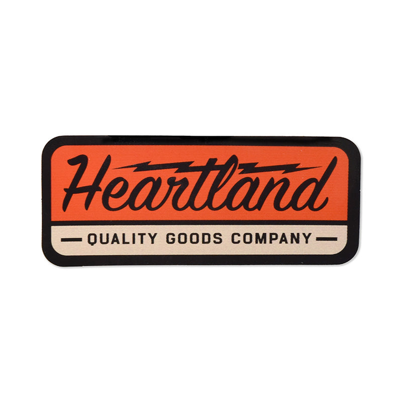 Heartland Quality Goods Sticker
