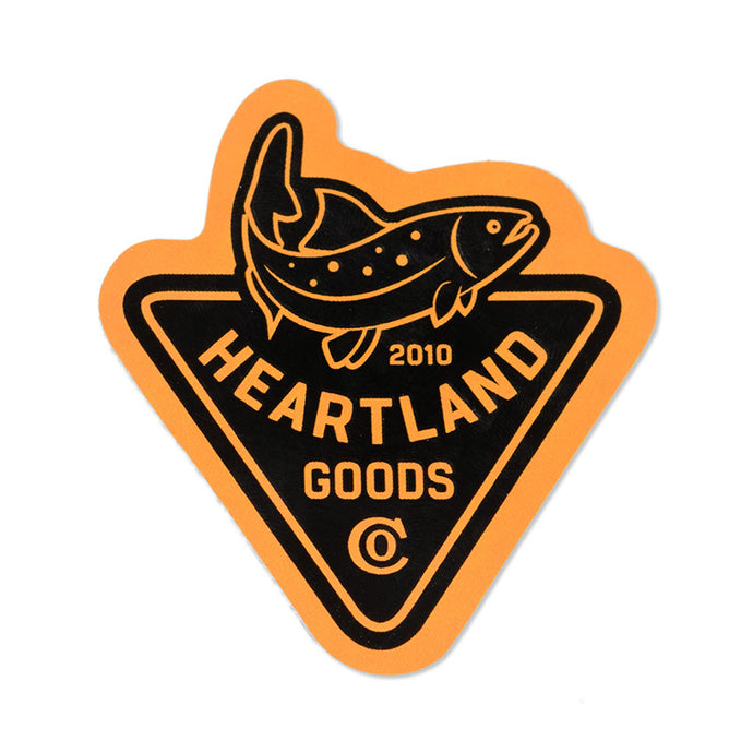 Heartland Trout Sticker