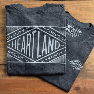 Letterpress Dark Heather Grey