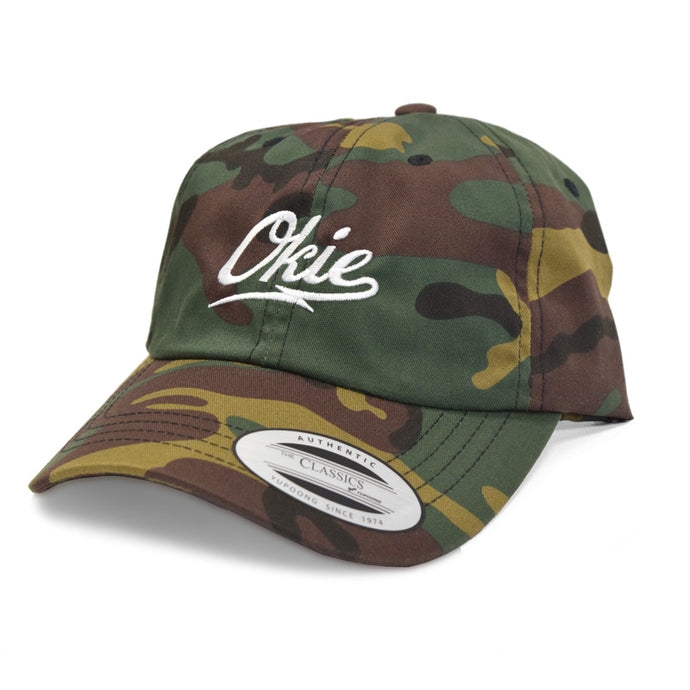 Okie Logo Dad Hat - Camo