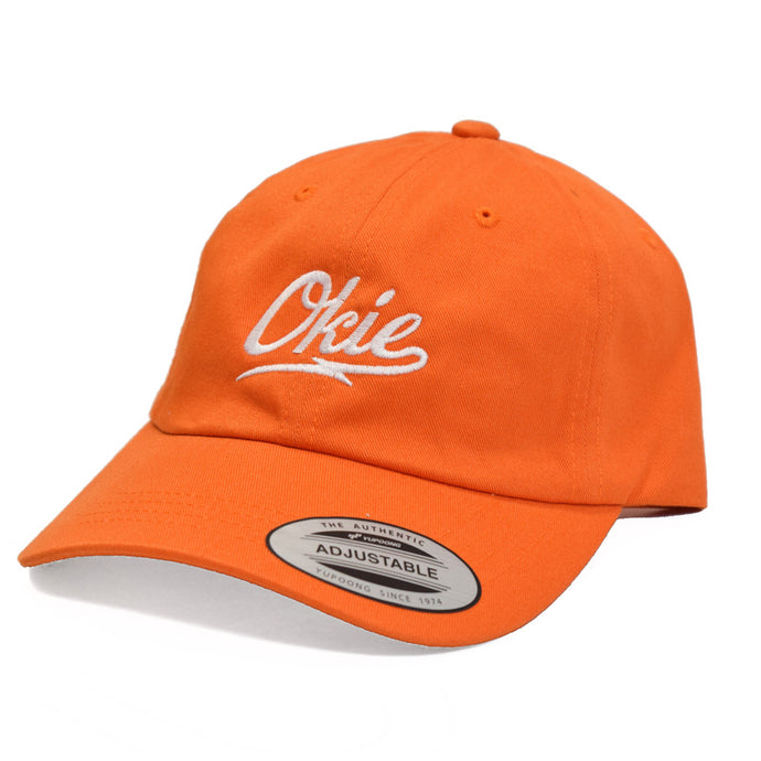 Okie Logo Dad Hat - Orange