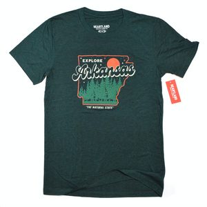 Explore Arkansas Tee