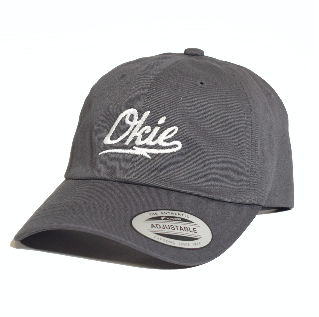 Okie Dad Hat - Charcoal
