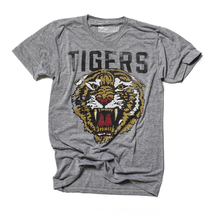 Tigers Vintage Athletic Tee