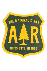 Arkansas Forestry Sticker