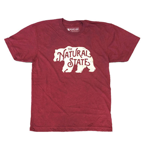 Natural State Bear, Red