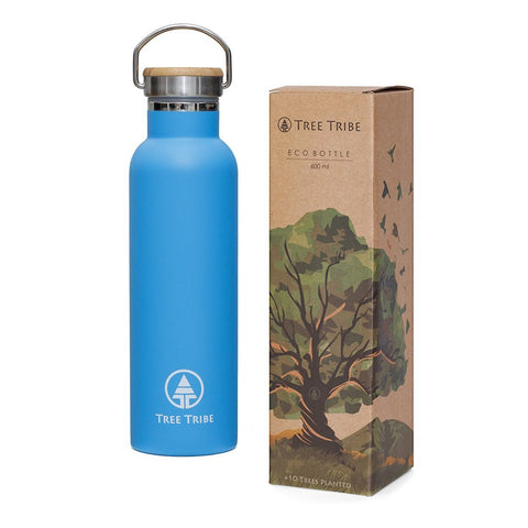 BLUE TRIBE LOGO STEEL BOTTLE - 20 OZ