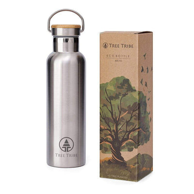 Stainless Steel Water Bottle - 20 oz  -  Reusable Bottle