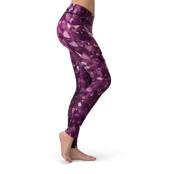 Amethyst Leggings  -  Yoga Pants