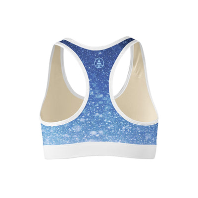 Ice Blue Sports Bra