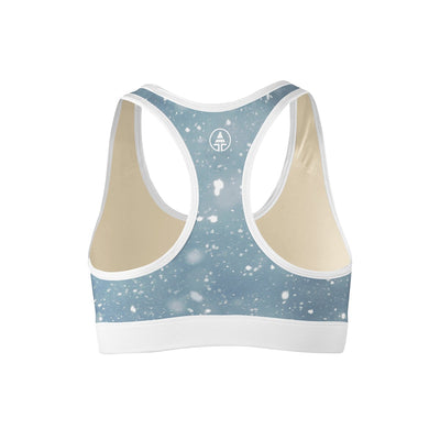 Snow Storm Sports Bra  -  Yoga Top