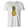 Cartoon Pineapple Tee  -  Men's T-Shirt S / WHITE