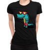 Chillin Lizard Women's Tee  -  Women's T-Shirt XS / BLACK