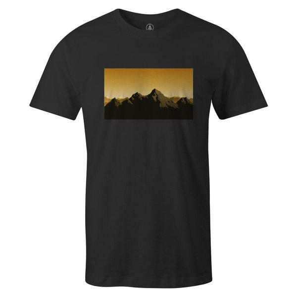 Choose Mountains Tee  -  Men's T-Shirt S / BLACK