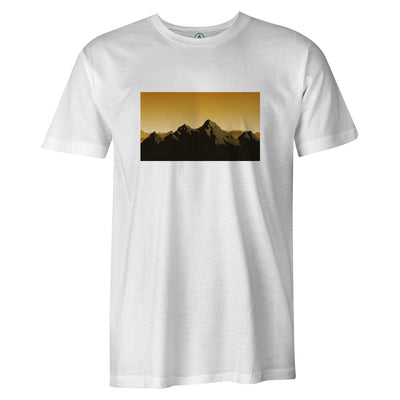 Choose Mountains Tee  -  Men's T-Shirt S / WHITE