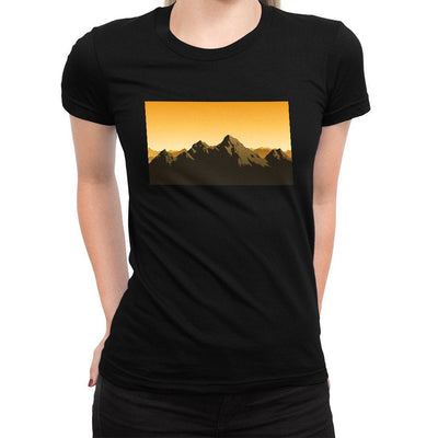 Choose Mountains Women's Tee  -  Women's T-Shirt XS / BLACK