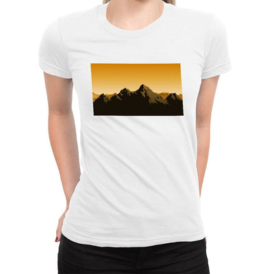 Choose Mountains Women's Tee  -  Women's T-Shirt XS / WHITE