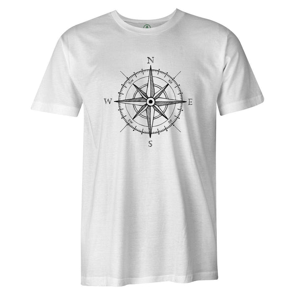 Compass Tee  -  Men's T-Shirt S / BLACK