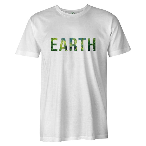 EARTH Tee  -  Men's T-Shirt S / BLACK