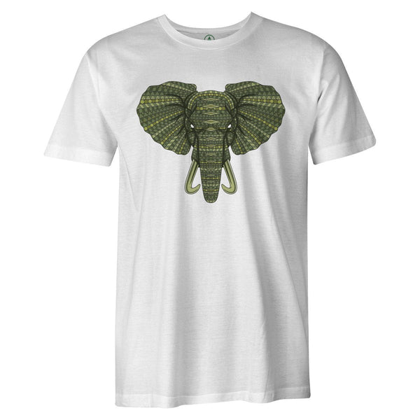 Elephant Boss Tee  -  Men's T-Shirt S / BLACK