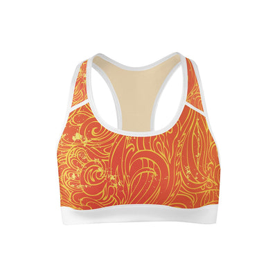Solar Hypnosis Sports Bra  -  Yoga Top